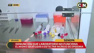 Laboratorio de Senepa no funciona