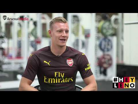 Bernd Leno's first Arsenal interview