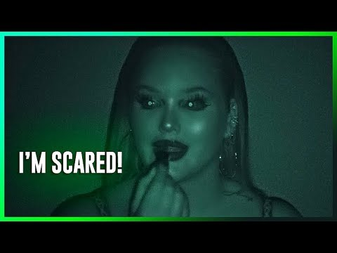 DOING MY MAKEUP IN THE DARK CHALLENGE!