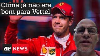 F1: JACQUES VILLENEUVE FALA SOBRE SAÍDA DE VETTEL DA FERRARI