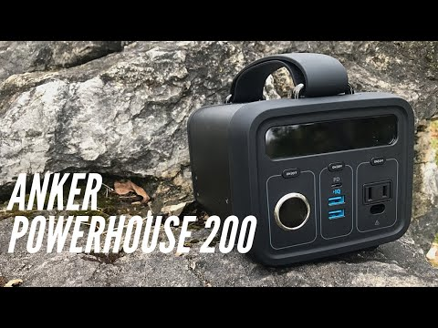 ANKER Powehouse 200 Portable Powerbank: Over 57,000 mAh, Charge Phones, Computers, Mini Fridge +