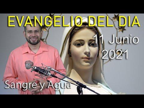 Evangelio Del Dia de Hoy - Viernes 11 Junio 2021- Dia del Sagrado Corazon de Jesus - Sangre y Agua