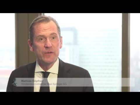 Interview: Mathias Döpfner erinnert sich an Felix Burda