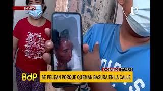 Chorrillos: vecinos de San Genaro viven en medio del caos y la inseguridad (2/2)