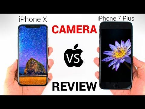 iPhone X vs iPhone 7 Plus - CAMERA REVIEW!