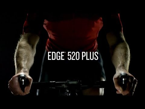 Garmin Edge® 520 Plus – Performance GPS-Fahrradcomputer mit Fahrradkarten