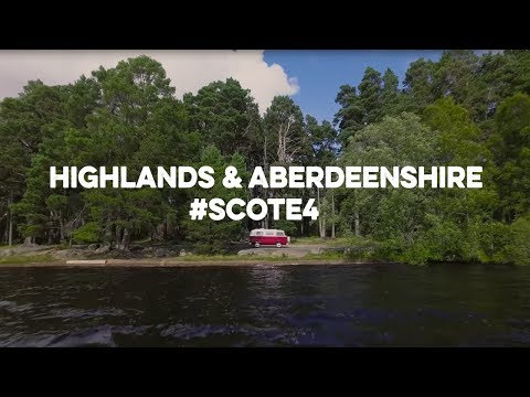 E4 on Tour - Highlands & Aberdeenshire