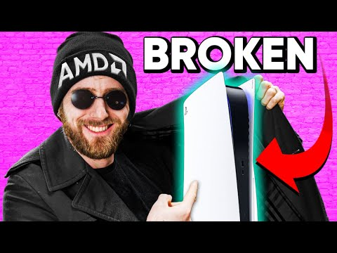 Why Is AMD Selling Broken Playstations?