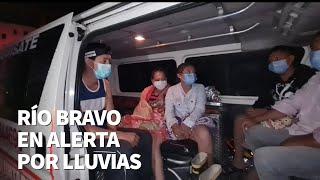Río Bravo, Suchitepéquez en alerta por lluvias; familia fue restacada con vida