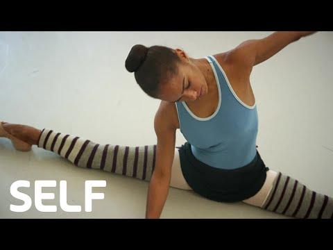 Misty Copeland's Superhuman Ballerina Flexibility | Cover Shoots | SELF