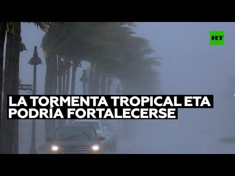 La tormenta tropical Eta podría fortalecerse en las próximas 48 horas y convertirse en huracán