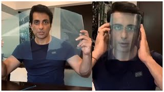 Sonu Sood Showing How To Make Face Mask At Home | #StayHome #StaySafe | TFPC - TFPC