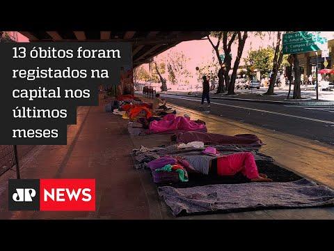 MP cobra gestão Ricardo Nunes sobre mortes de moradores de rua por frio