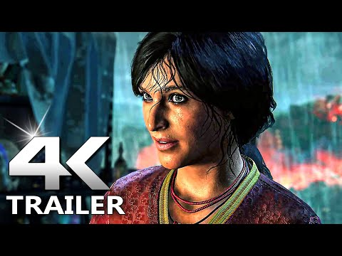 UNCHARTED Legacy of Thieves Remastered Trailer (PS5)