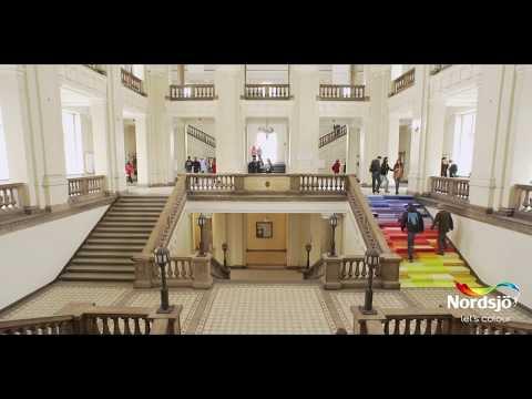Lets Colour eksperiment - Hva skjer hvis vi maler trappen i farger?