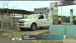 Asesinan a electricista en la 28 y la S en Guayaquil