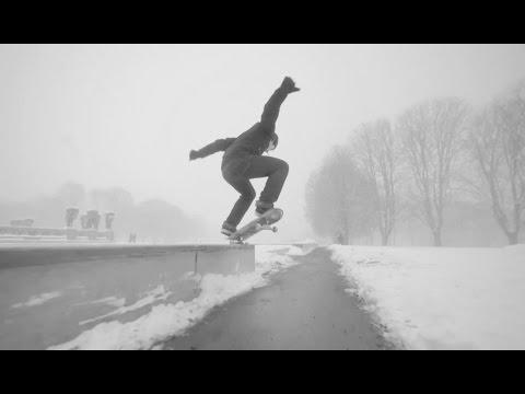 Extreme Winter Skating with Gard Hvaara   Winter Lines