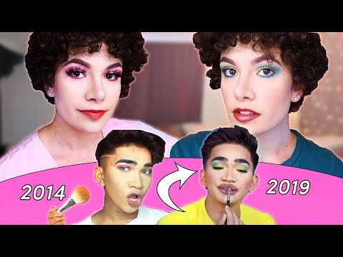 I Try Bretman Rock's First And Last Makeup Tutorial