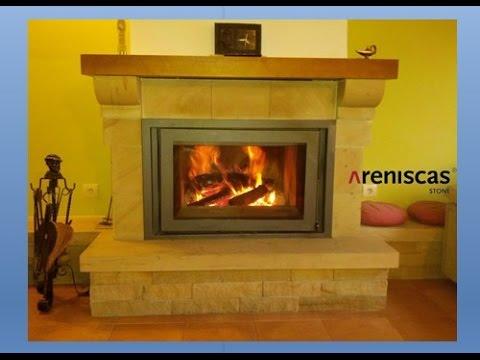 9.- STONE & FIRE RANGE ➡ Natural Stone FIREPLACES ★ CHIMENEAS de piedra natural