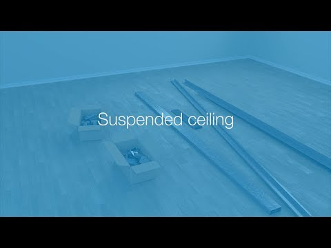 Suspended ceiling - Lindab