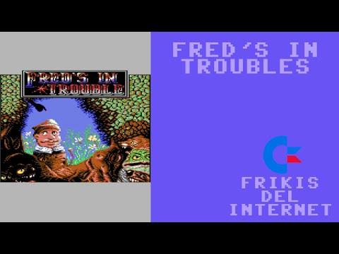 Fred's in troubles (c64) - Walkthrough comentado (RTA)