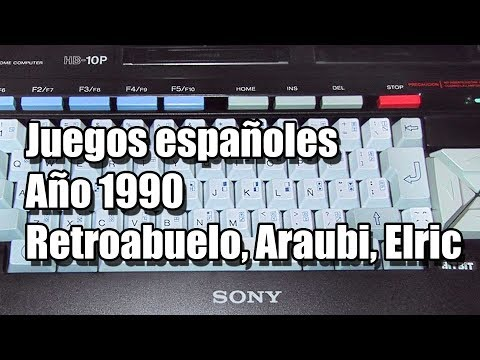 MSX 1990 JUEGOS ESPAÑOLES