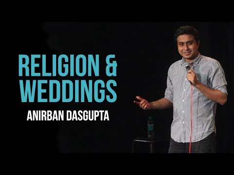 connectYoutube - Religion and weddings | Anirban Dasgupta stand up comedy