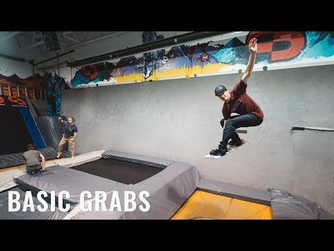 Basic Grabs On A Snowboard Addiction Training Board