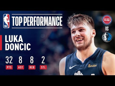 Luka Doncic DOES IT ALL For Dallas | January 25, 2019