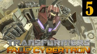 Transformers Fall of Cybertron Walkthrough Part 5 No Commentary 1080p 60FPS