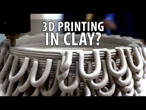 3D Printing Clay? The Bottery from Emerging Objects at Bay Area Maker Faire #BAMF2018