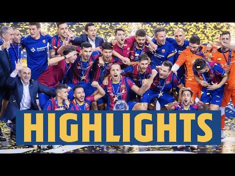 [HIGHLIGHTS] UEFA FUTSAL CHAMPIONS LEAGUE FINAL