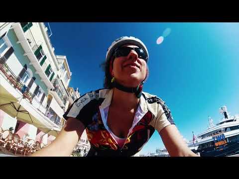 La strada delle grandi vittorie - in bici da Alassio a Sanremo