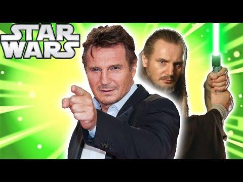 connectYoutube - Liam Neeson OPEN to RETURN as Qui-Gon Jinn for Kenobi - Star Wars News Explained