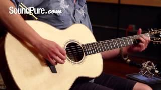Goodall Mahogany Concert Jumbo Acoustic Guitar Demo