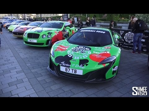 2015 Gumball 3000 Grid Tour – Start in Stockholm