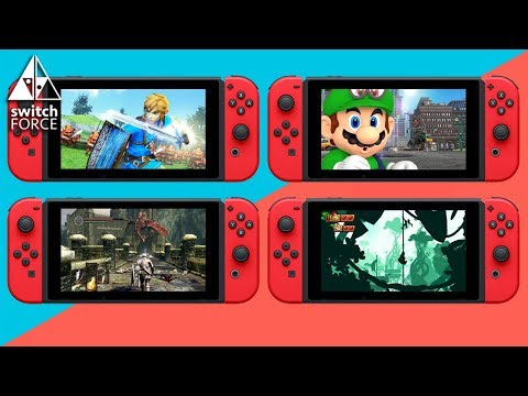 connectYoutube - COMPLETE RANKING New Switch Games + Announcements!! EARLY 2018