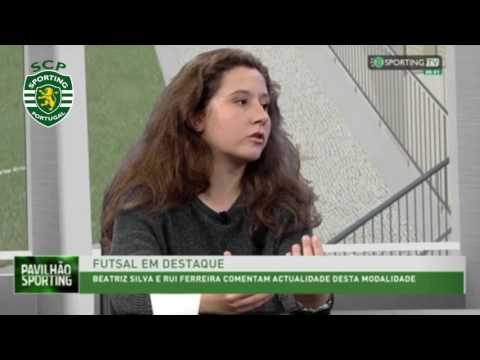 Formação do Futsal Feminino em destaque na Sporting Tv
