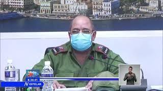 Chequea Grupo Temporal de Trabajo situación de la Covid-19 en Cuba