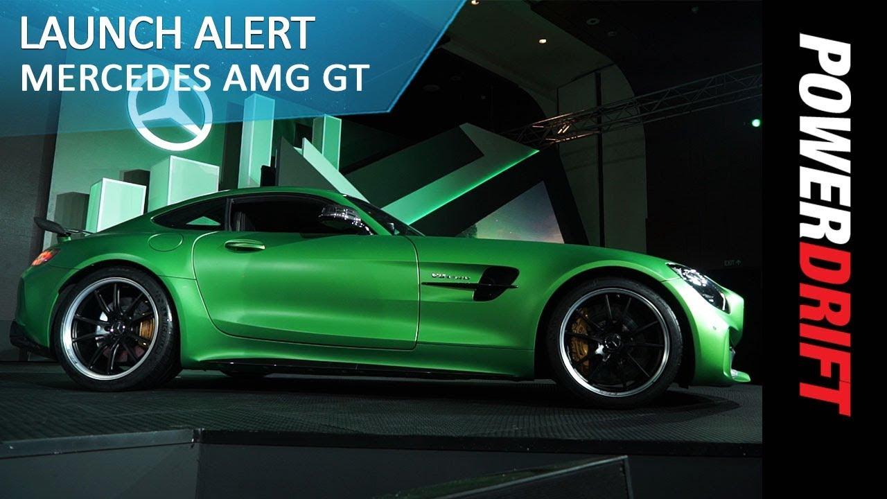 Mercedes AMG GT Roadster and GT R : Launch Alert : PowerDrift