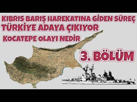 KIBRIS BARIŞ HAREKATINA GİDEN SÜREÇ 3. Bölüm I Türkiye 'nin İlk Müdahalesi I Kocatepe Gemisi Olayı