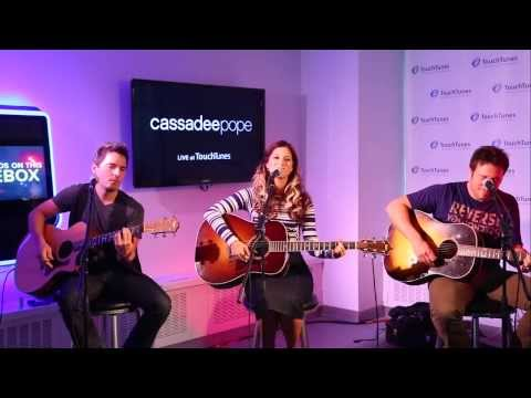 "Cassadee Pope - ""Wasting All These Tears"" Live at TouchTunes"