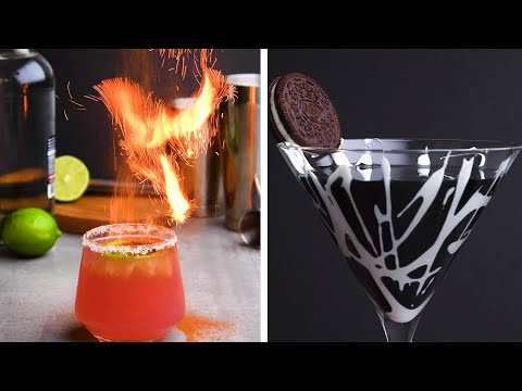 15 Unique Cocktail Garnishes to Ring in the New Year! So Yummy