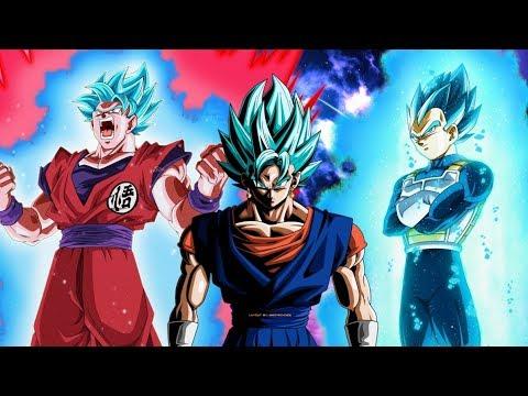 Vegito vs Goku & Vegeta Power Levels (Dragon Ball Super)