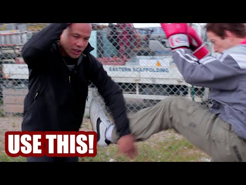 How to defend against knees use Wing Chun