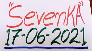 SevenKA Números para hoy Jueves 17-06-2021