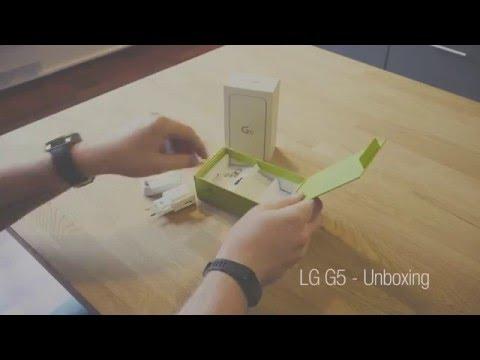 Ut av esken: LG G5