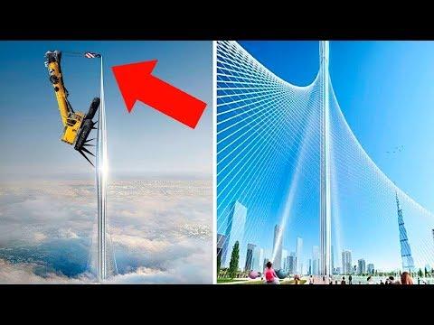 Вот Как В Дубае Строят Самое Высокое Здание в Мире