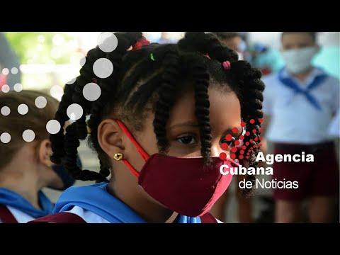 Actualización de vacunación infantil anti-COVID-19 en Cuba
