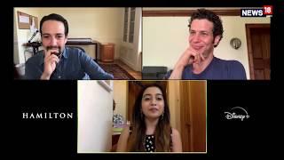 Lin-Manuel Miranda and Thomas Kail interview with Shilpa Rathnam I Hamilton I Lunchbox - IBNLIVE